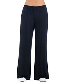 Women's Plus Size Palazzo Lounge Pants
