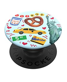 NYC POP Grip Cell Phone Accessory
