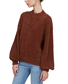 Lucy Paris Mock-Neck Sweater