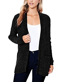 Women's Cozy Chenille Cardigan Sweater