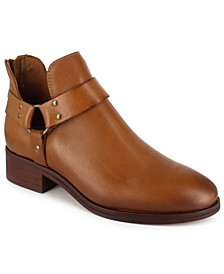 Women's Garnie Harness Leather Booties