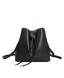Leia Vegan Leather Shoulder Bag