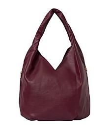 Love Success Vegan Leather Hobo Bag