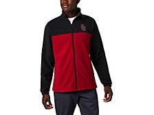 Oklahoma Sooners Men's Flanker Jacket III Fleece Full Zip Jacket