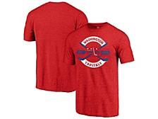 Washington Capitals Men's Tri-blend Crease T-Shirt