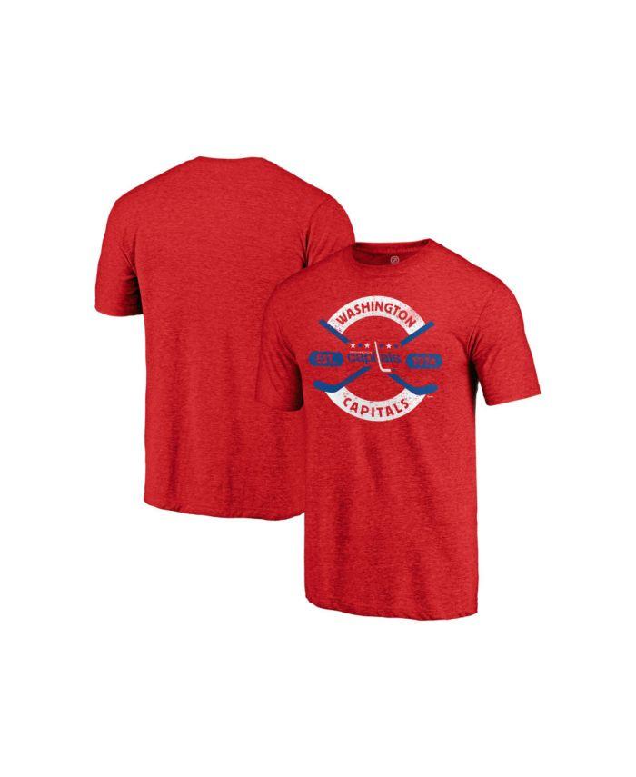 Majestic Washington Capitals Men's Tri-blend Crease T-Shirt & Reviews - NHL - Sports Fan Shop - Macy's