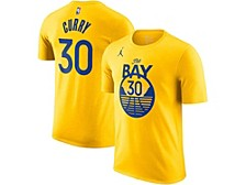 Golden State Warriors Youth Statement Name and Number T-shirt - Stephen Curry