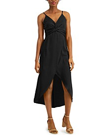 Twist-Front High-Low Dress, Created for Macy's