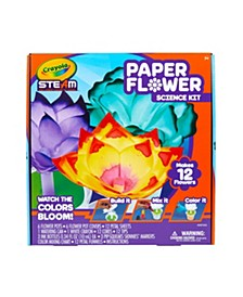 Paper Flower Science Kit, Color Changing Flowers, Gift for Kids, Ages 7, 8, 9, 10