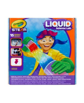 Crayola Liquid Science Kit for Kids, Water Experiments, Educational Toy, Gift for Kids, 7, 8, 9,10