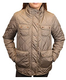 Women's Diamond Quilted Field Jacket