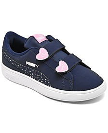 Little Girls Smash v2 Candy Casual Sneakers from Finish Line