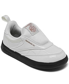 Toddler Girls Cardi B Club C Slip-On III Casual Sneakers from Finish Line