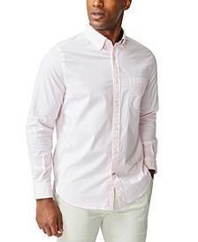 Men's Classic-Fit Stripe Poplin Shirt