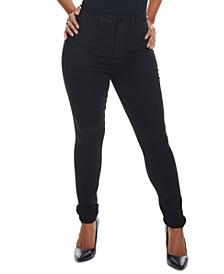 Juniors' Curvy-Fit High-Rise Skinny Jeans