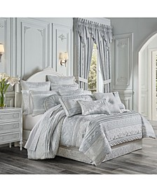 Riverside 4 Piece Comforter Set, Queen