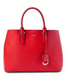 로렌 랄프로렌 Lauren Ralph Lauren Dryden Marcy Leather Satchel