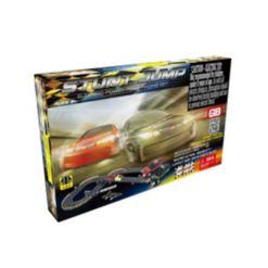 Stunt Jump Road Racing Slot Car Set - Electric Powered