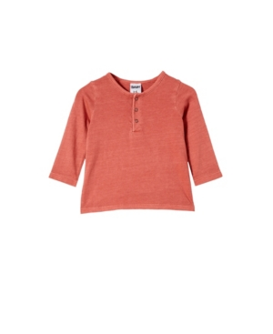 COTTON ON BABY BOYS DENNY LONG SLEEVE TOP
