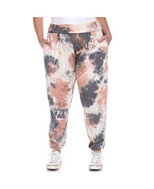 Women's Plus Size Tie Dye Harem Pants
