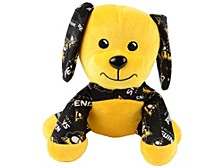 """Pittsburgh Penguins 7-1/2"""" Printed Seated Dog"""