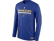 Men's Golden State Warriors Practice Long-Sleeve T-Shirt