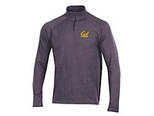 Men's University of California Golden Bears Charged Cotton Quarter-Zip Pullover