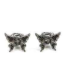Rosia Butterfly Hair Jaw, Set of 2