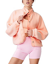 Women's Warm Up Sherpa Jacket