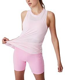 Women's Active Curve Hem Tank Top