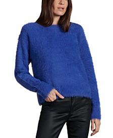 Eyelash-Textured Sweater