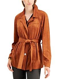 Tie-Waist Jacket, Created for Macy's