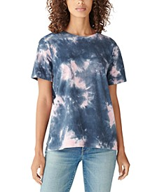Cotton Tie-Dyed Relaxed T-Shirt