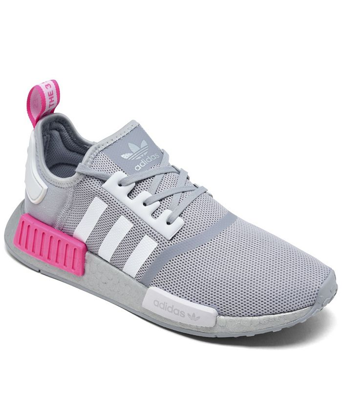 adidas Big Girls NASA Artemis NMD R1 Casual Sneakers from Finish ...