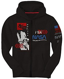 Big Boys NASA Zip Fleece Hoody