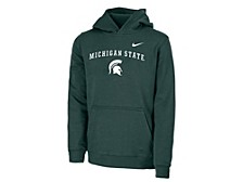 Michigan State Spartans Youth Club Fleece Pullover Hooded Sweatshirt