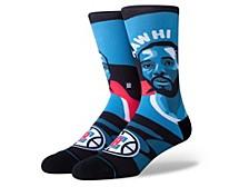 Men's Los Angeles Clippers Kawhi Leonard Mosaic Socks