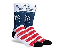 Parkway Men's New York Yankees Stars and Bars Socks