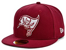 Tampa Bay Buccaneers Basic Fashion 59FIFTY Cap