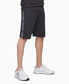 Men's Athleisure Logo Tape Shorts