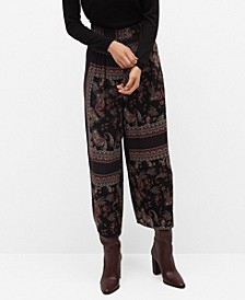 Women's Flowy Printed Pants
