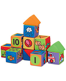 Melissa and Doug Kids' Match & Build Toy Blocks