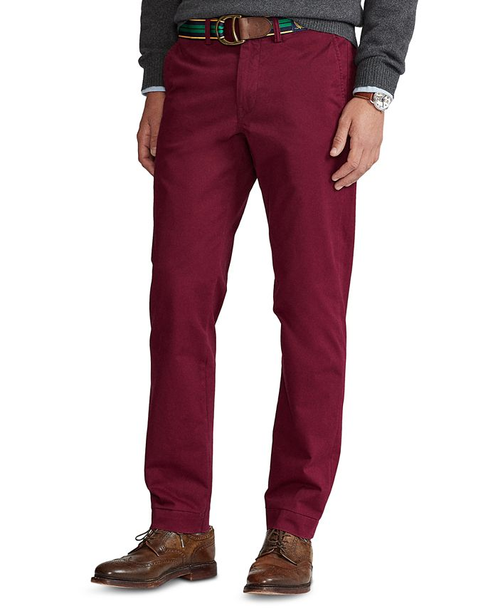 Polo Ralph Lauren - Men's Stretch Straight Fit Chino Pants