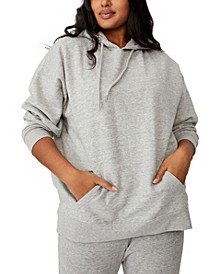 Trendy Plus Size Dad Oversized Hoodie