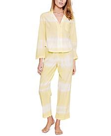 Marilyn Cotton Tie-Dyed Pajama Set