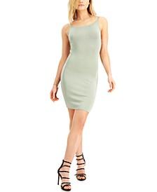 Cutout-Back Sleeveless Sheath Dress