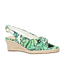 Women's Kimora Espadrille Wedge Sandals