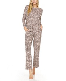 Women's Marie Printed Knit Pajama Set