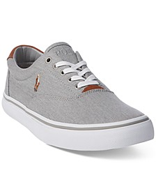 Men's Washed Twill Thornton Low-Top Sneakers