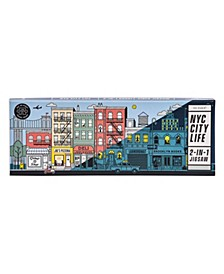 Yes Studio Double-Sided New York 140-Piece Jigsaw Puzzle